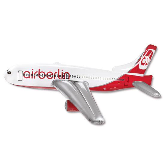 airberlin Boeing 737-800 aufblasbar