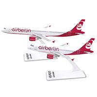 airberlin Flugzeugmodelle Airbus: 2 Modelle - 1 Preis