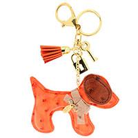 Sweet Deluxe Schlüsselanhänger - Hündchen Orange -