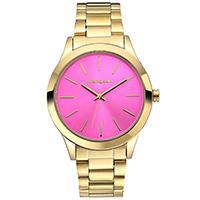 MANGUUN Damenuhr Classic Gold/Pink