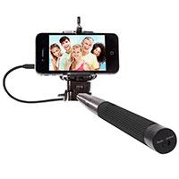Selfie-Stick mit Auslöser am Griff