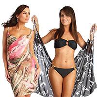 SARESS Strandkleid in zwei Variationen