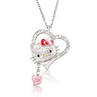 SWAROVSKY Kette - Hello Kitty -