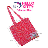 HELLO KITTY Foldaway Bag