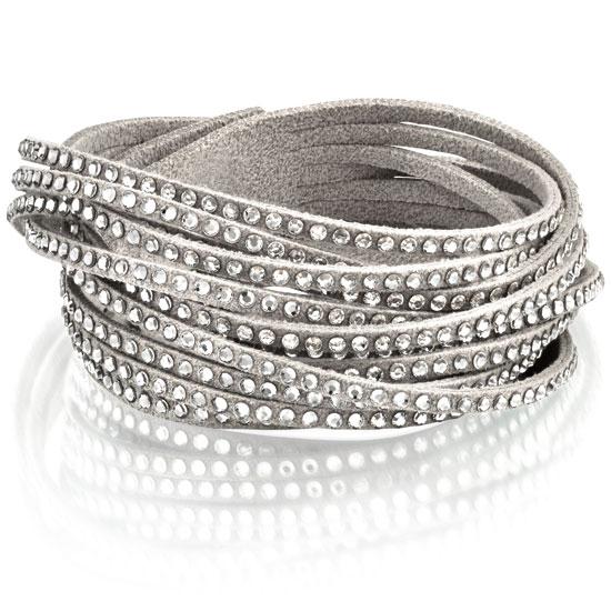 swarovski armband slake grey. Black Bedroom Furniture Sets. Home Design Ideas