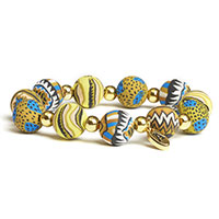Artisan Beads -Aztec Gold-