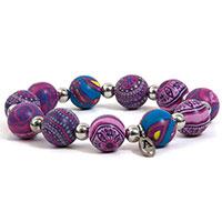 Artisan Beads Armband -Haze-