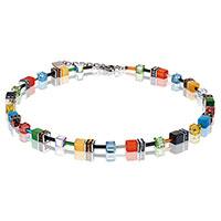 Halskette Geo Cube -Vivid- von Coeur de lion