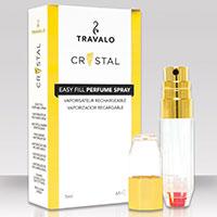 Parfumzerstäuber -Travalo Crystal Gold-