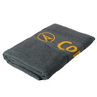 Stylisches graues Design-Badetuch mit dem klassischen Condor-Logo