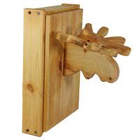 Schlüsselkasten aus Holz im Elch-Design