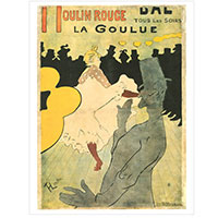 Henri de Toulouse Lautrec - Moulin Rouge - La Goulue