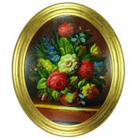 Die Vase – ein virtuos gemalter Blumenstrauß