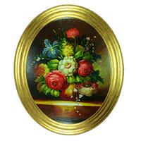 Der Strauß – eine hinreißend gemalte Blumenpracht