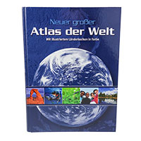 Neuer großer Atlas der Welt