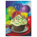 3D-Karte Geburtstagsmuffin