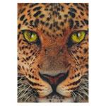 3D-Karte Raubkatze (Leopard)