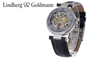 Logo und Artikel von Lindberg & Goldmann