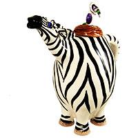Design-Kanne Zebra