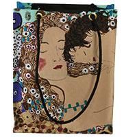 Gustav Klimt Künstlertasche - Drei Lebensalter -