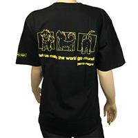 perro negro T-Shirt -Horizon-