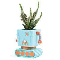Blumentopf - Planterbot Roboter - von Doiy