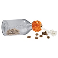 HUNTER Hundespielzeug Snack Bottle XS