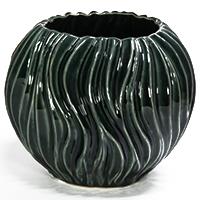 Zauberhafte Keramik-Kugelvase - Adria -