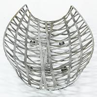 Metall-Schale - Plexus - im Antiksilber-Look (klein)
