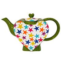 Designkanne - Sterne auf Herz - von Jameson & Tailor