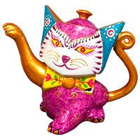 Designkanne - Pink Cat - von Jameson & Tailor