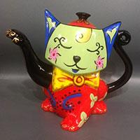 Designkanne - Katze- von Jameson & Tailor