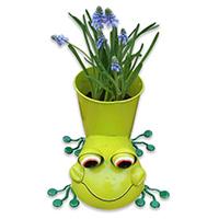 Pflanzentopf  Frosch