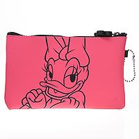 Reißverschlussbörse Mickey & friends - pink -Daisy-