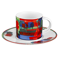 Kaffeetasse -Herbst- - Künstleredition Ton Schulten