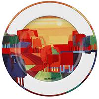 Frühstücksteller -Sommer- - Künstleredition Ton Schulten