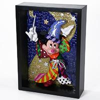 Blockskulptur - Mickey Mouse der Zauberer -