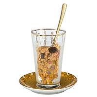 Gustav Klimt: Latte Macciato -Der Kuss-