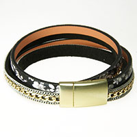Schwarzgraues Armband -Asia-