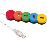 4-fach USB Hub -Proc-