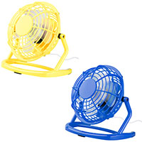 Miclox - Miniventilator -Set gelb & blau