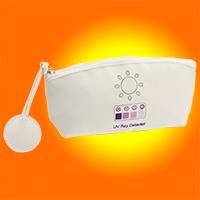 Kosmetiktasche mit UV-Meter
