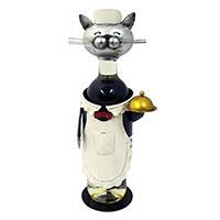 Flaschenhalter Katze -Kellner-