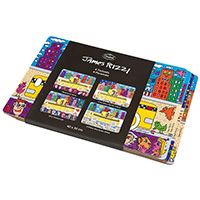 JAMES RIZZI  Platzset -New York Skyline-