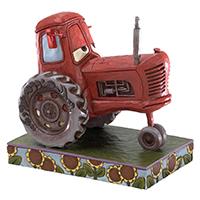 Skulptur -Cars--Tractor Moos