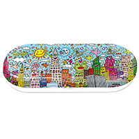 Brillenetui -My New York City- von James Rizzi