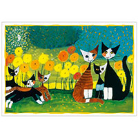 Wachtmeister Postkarte -All together-