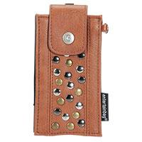 Smartphone-Hülle CLASSIC -cognac-