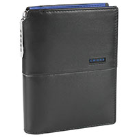 CROSS Collection Brieftasche mit Stift schwarz/blau