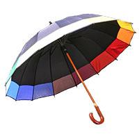 Regenschirm -Regenbogen-